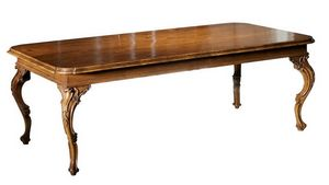 Giotto RA.0681.A, 18th-century-style extendable Venetian table