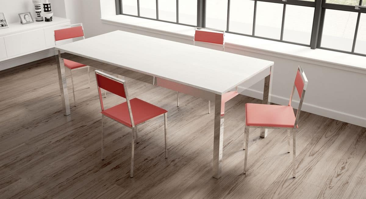 Lio, Extendable table, essential, for modern dining room