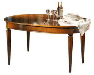 Metz VS.5525, Louis XVI oval extendable table
