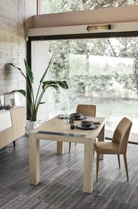 MONOLITE 130 TA507, Extendable table for the kitchen, made of laminate