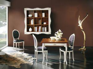 Napoleone extendable table, Square extendable table