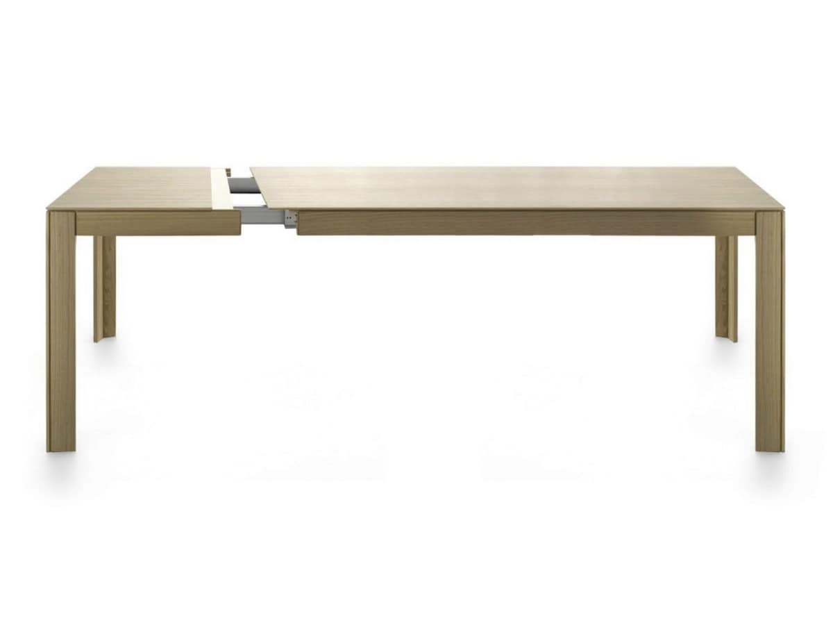 Nara 200-250, Extendable wooden table