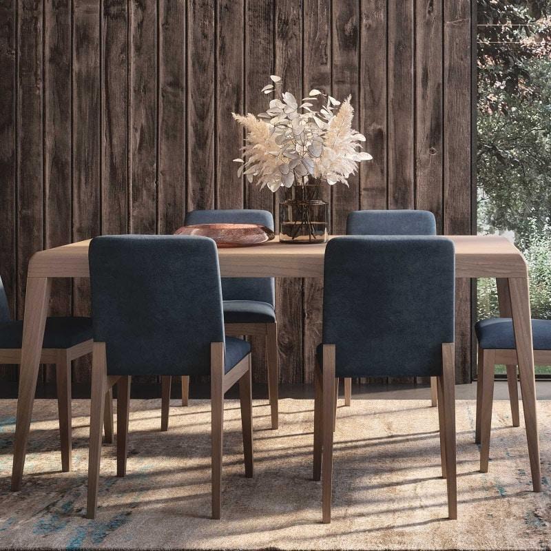 Nova NOVA1326T, Modern extendable wooden table