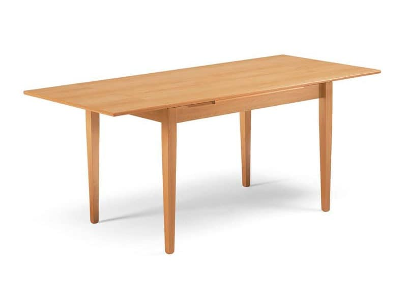 Paisà, For dining room table, extendable, tapered legs