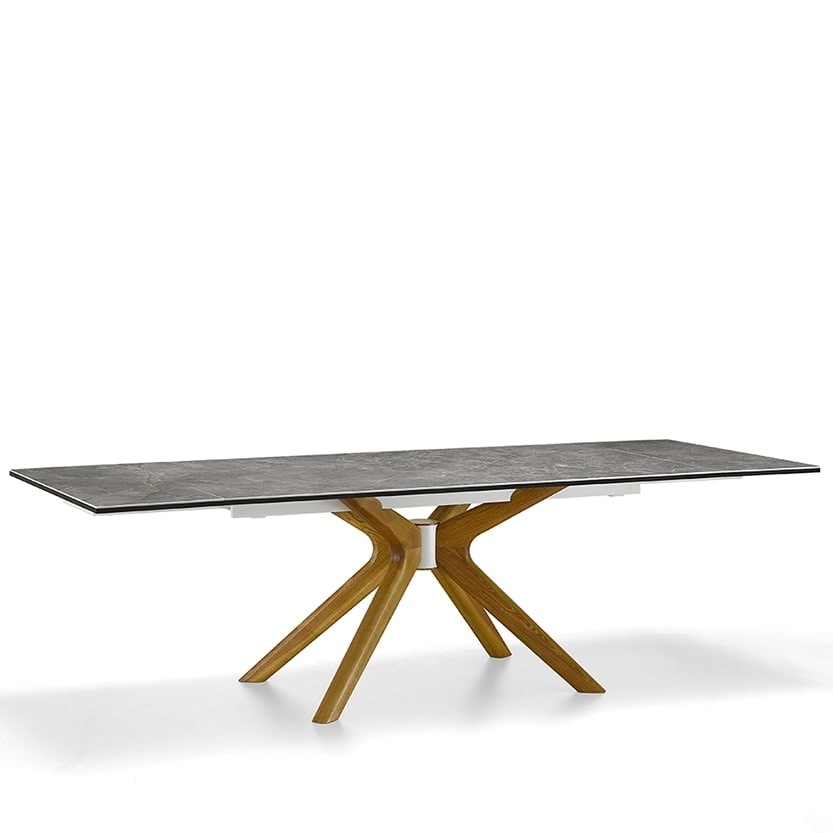 Root-A, Table with base that evokes the shape of a root