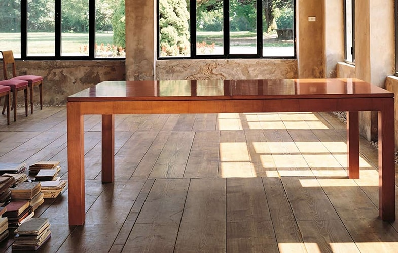 Scacchi 5771, Extendable wooden table