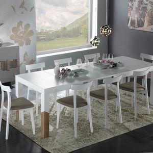 Spazio Contemporaneo SPAZE1059, Extendable dining table