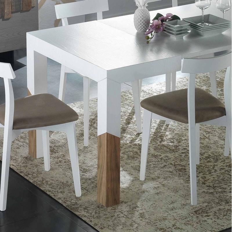 Spazio Contemporaneo SPAZE1059, Extendable dining table