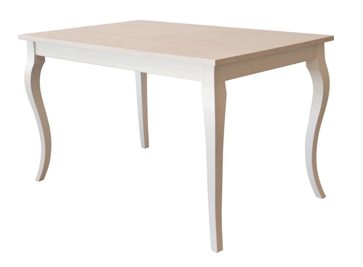 TA02, Extendible wooden table, for contract environments