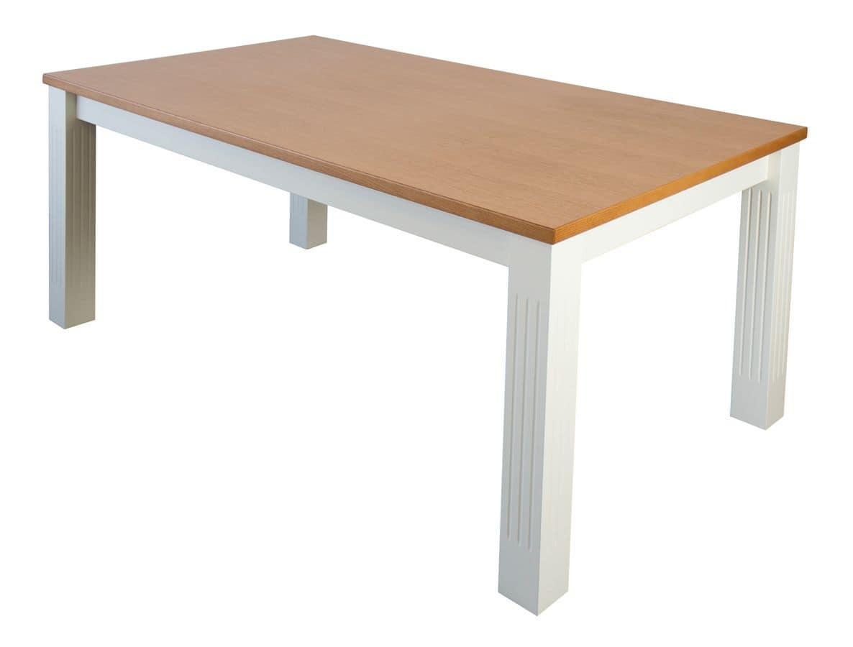 TA30, Extendable rectangular table, oak veneered top