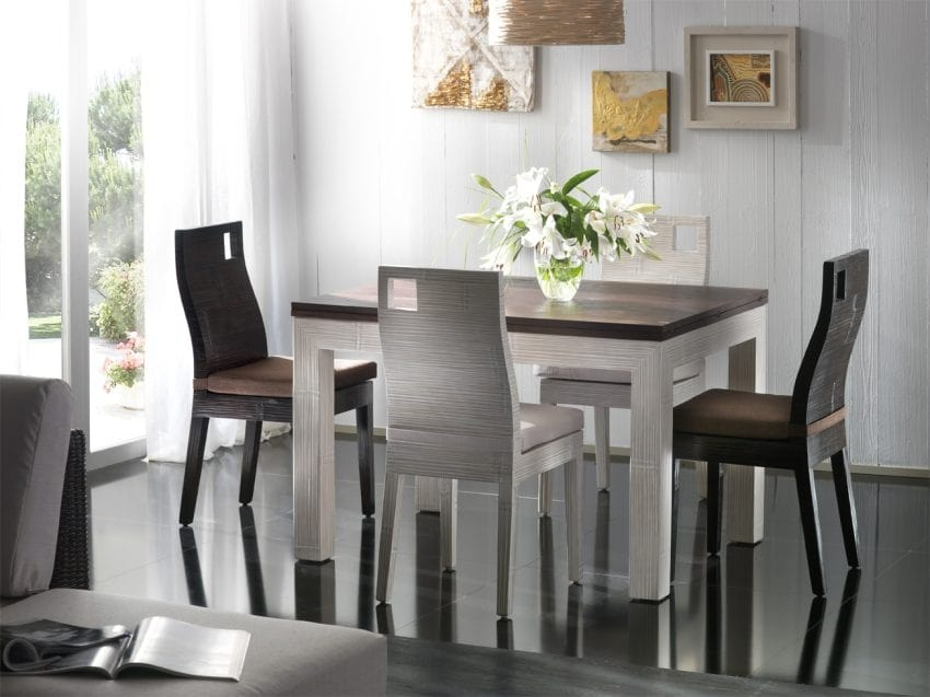 Table Hotel, Ethnic style extendable table