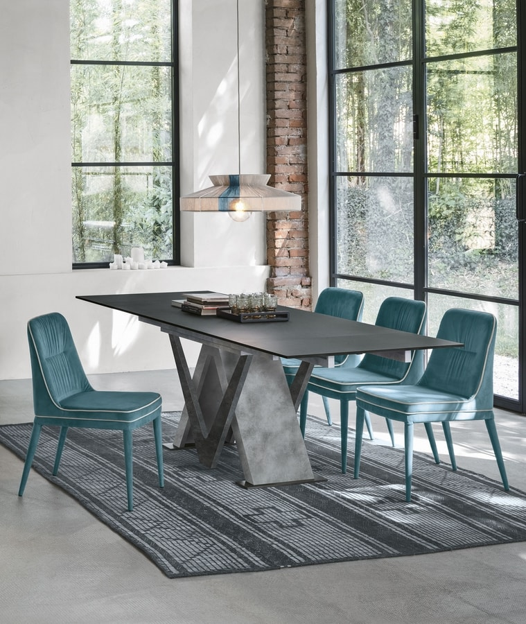TRITONE 160 TA516, Table with HPL top