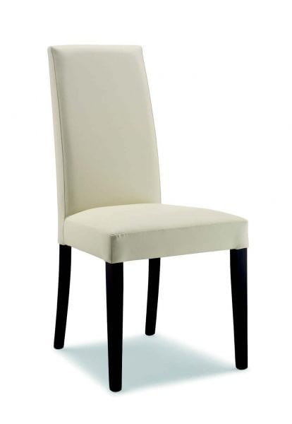 05 Nicole, Dining chair with high backrest