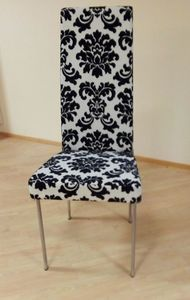 Chair 01, Chair with high backrest