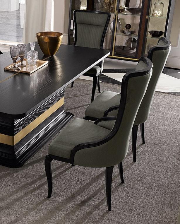 Dilan Art. D10, Dining chair with headrest