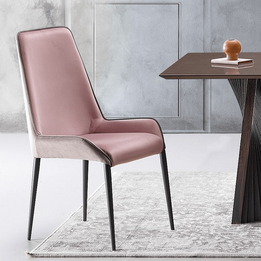 Melody-H, Chair with high back