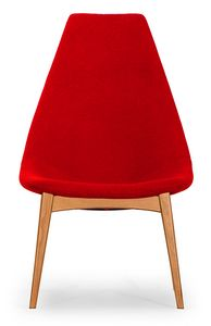 Simo high, Chair with a slender design