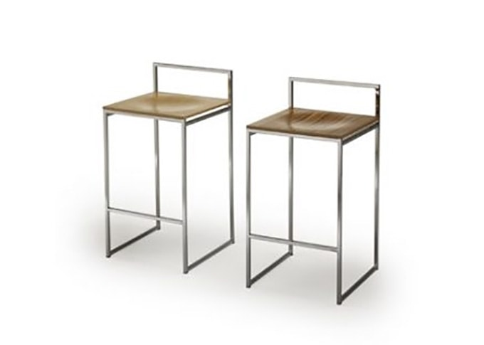 Quadro, Stool with a linear design structure
