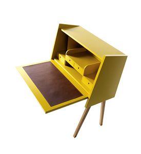 730301 Hemingway, Writing desk with folding shelf