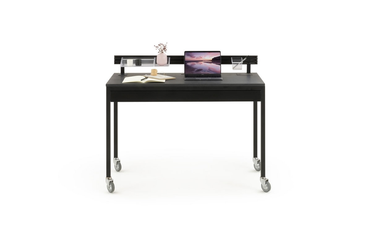 a113 platone, Equipped writing desk, with drawers