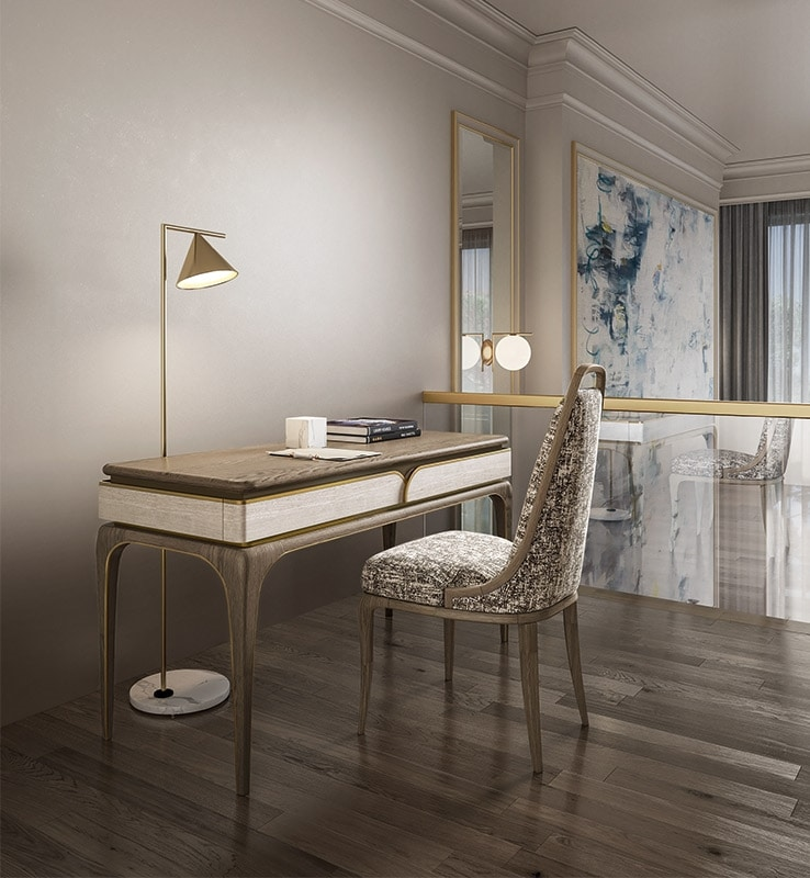 Alexander Art. A11, Desk with a sophisticated design