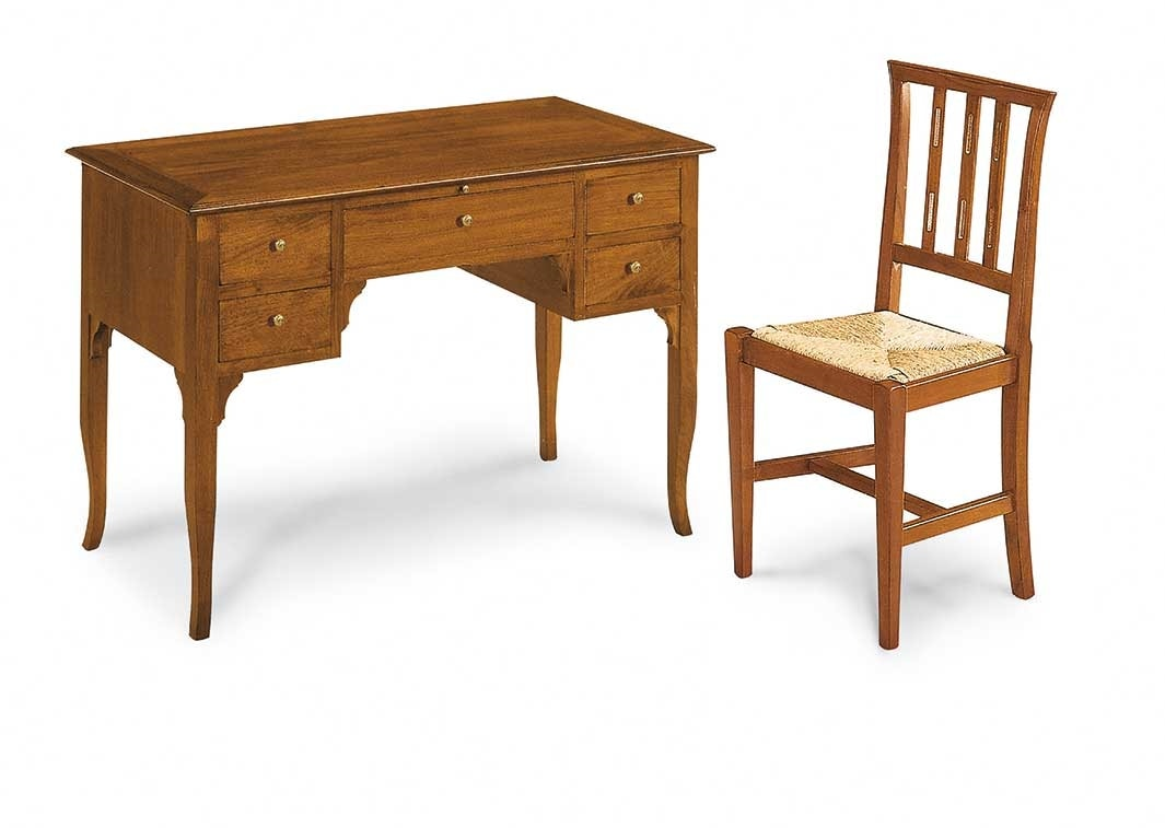 Art. 101, Wooden writing desk with drawers