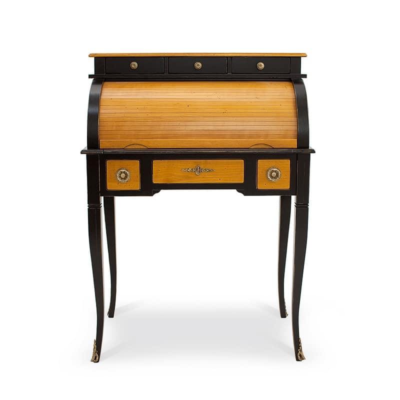 DELFINO Art. 4268, Lacquered desk, classic style, for studio and home