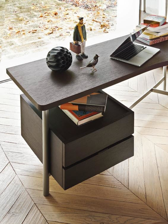 Desk, Desk with drawers