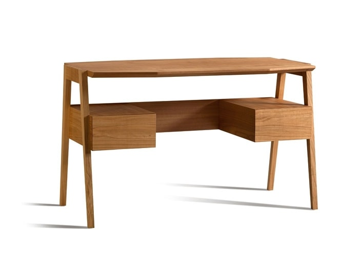 Eugenio 5080, Wooden desk with octagonal top