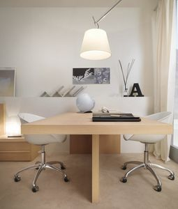 Linear desk 04, Elegant double desk