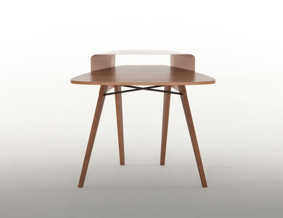 NIPPER, Writing desk with refined lines