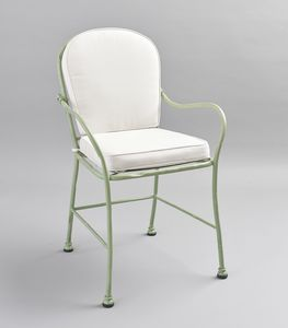 BAMBOO GF4012CH, Outdoor green iron chair