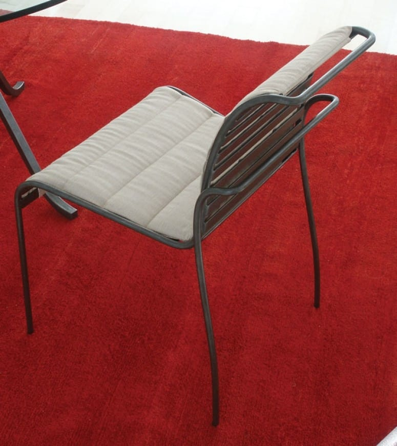 Crosby, Iron chair for outdoor use