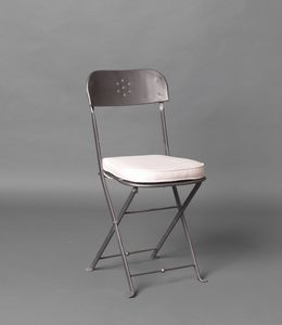 PILA GF4018CH, Folding iron chair for outdoor use