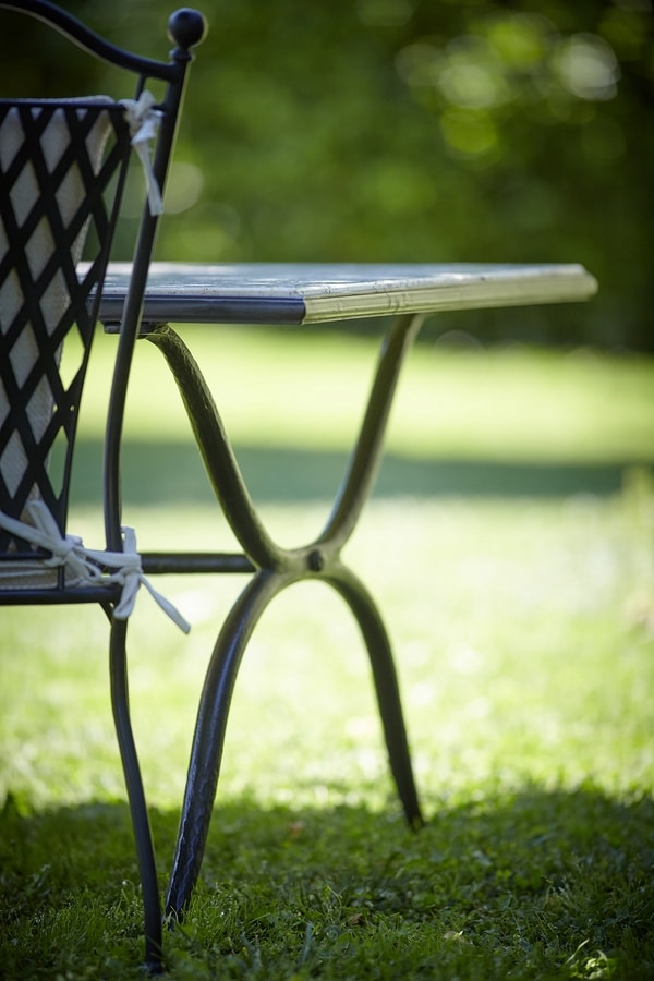 ROMBI GF4002CH-IMP, Stackable wrought iron chair