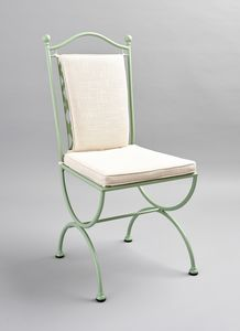 ROMBI GF4002CH, Wrought iron chair with intertwining