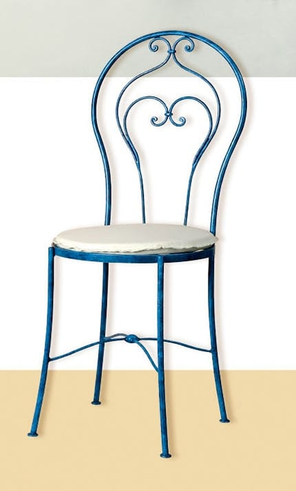 S.5490/4, Classic wrought iron chair