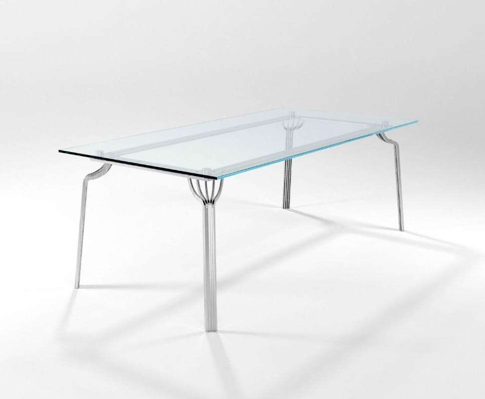 Ming rettangolare, Rectangular kitchen table
