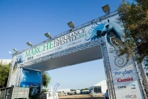 The Sheikh's tent - Endurance Lifestyle 2014
