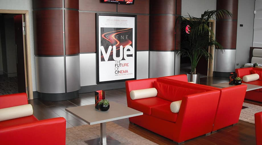 Waiting rooms, Vue Cinema