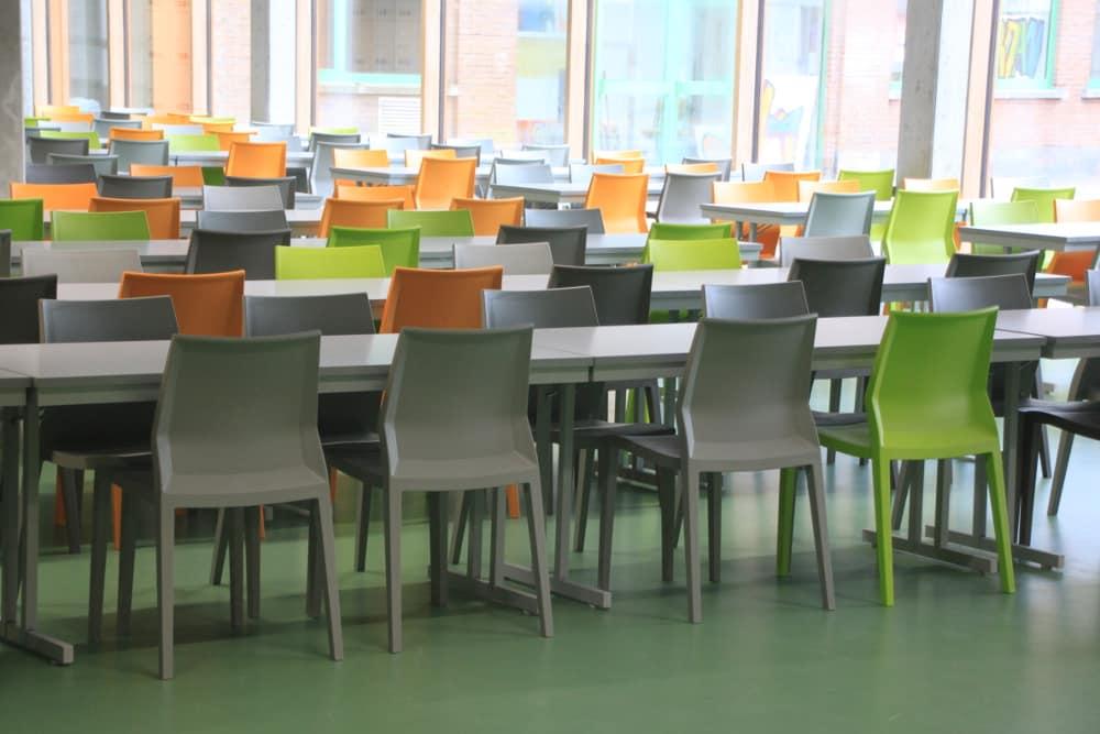 School canteen, Brussels